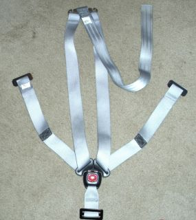 BRITAX MARATHON Complete HARNESS STRAPS Assembly SILVER Gray