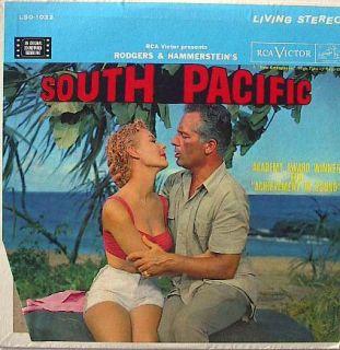 South Pacific Record Album Rossano Brazzi Mitzi Gaynor