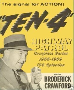 Highway Patrol Complete TV Series 1955 Broderick Crawford