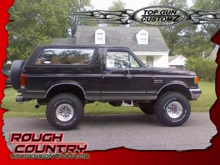 80 96 Ford Bronco Rough Country Suspension Lift Kit System