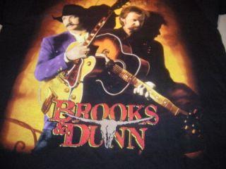 brooks dunn 1997 concert tour of america lrg t shirt