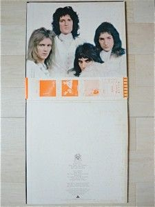 QUEEN / 2ND JAPAN LP / OBI, FREDDIE MERCURY, BRIAN MAY, HARD ROCK, EX
