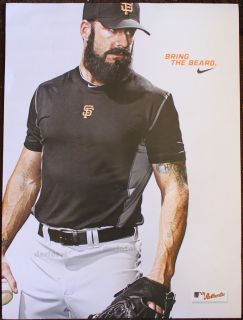 BRIAN WILSON SAN FRANCISCO GIANTS NOT A BOBBLEHEAD NIKE FEAR THE BEARD