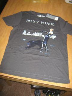 New Burton Roxy Music Brian Ferry T Shirt Size Medium