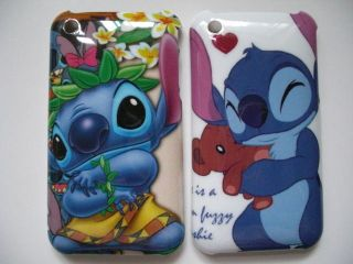 Disney Lilo & Stitch Cover Case for iPhone 3G 3GS 2pcs New Code 1