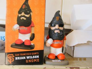 Brian Wilson SGA San Francisco Giants Gnome & Bobblehead Brand New In
