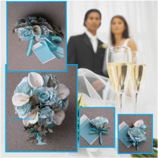 Silk Wedding Flowers Pool Bridal Flowers Pool Bridal Bouquets