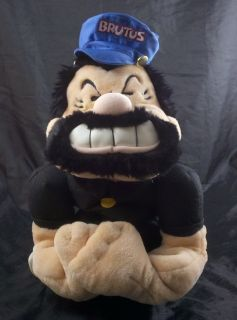 Brutus Hand Puppet Popeye King Features by Winning Edge