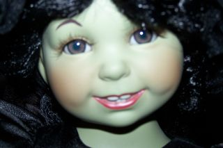 Marie Osmond Baby Wicked Witch Doll Wizard of oz Large Older Doll