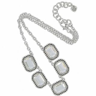 PC Set Brighton Jewelry Le Ritz Necklace Bracelet Earrings $202 MSRP