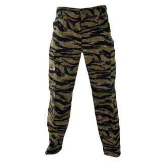 Propper Asian Tiger Camo Cotton Rip BDU Pants Cargo Trouser Military