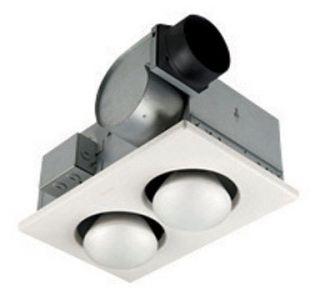 Broan Nutone Bathroom Exhaust Fan Heater 70CFM 164
