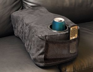 Couch Buddy Portable CENTER CONSOLE Sofa Loveseat Armrest Remote Cup