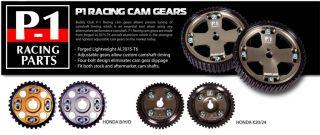 Buddy Club Racing Cam Gears GOLD PAIR   B16 B18 B20 H23 H22 D16 EG EK