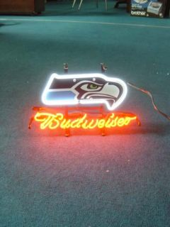 Seattle Seahawks Football Beer Bar Neon Light Sign IF055
