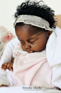 DEPOSIT Reborn AA A/A African American Black Biracial by Brooke Nicole