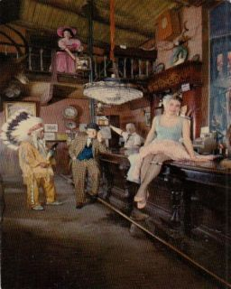 Buena Park CA Calico Saloon Bar Knotts Farm Postcard