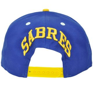 NHL LNH Buffalo Sabres New Era 9Fifty 950 Blue Yellow A Frame Snapback