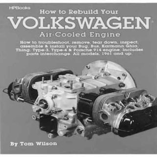 to Rebuild Your Engine VW Bug VW Beetle VW Baja Bug T 1 Manual