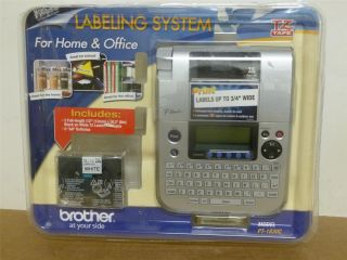Brother Personal Label Maker Model PT 1830C P Touch Mint