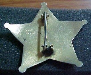 obsolete broward county fla deputy sheriff badge