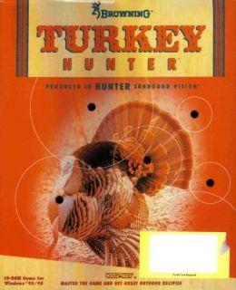 Browning Turkey Hunter PC CD Elusive Bird Shooter Game