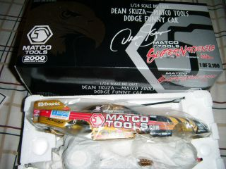 Matco Tools Dean Skuza 2000 Dodge Funny car 1 of 3100 MIB Brand New 1