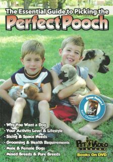 Picking The Perfect Puppy DVD New Dog Pooch Training