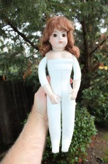 15 Bru JNE Leather Bisque Jointed Doll Mosser 80 No Res