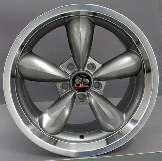 20 Rim Fits Mustang® Bullitt Wheel 05 Gunmetal 20x10