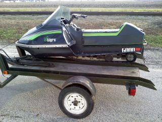 1980 Arctic Cat El Tigre 6000 Liquid Cooled Snowmobile Ski Doo Polaris
