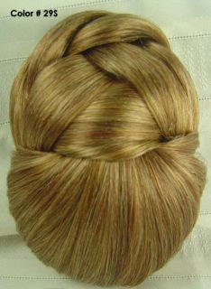 Chignon Bun Updo Clip on Jessica Hairdo Choice