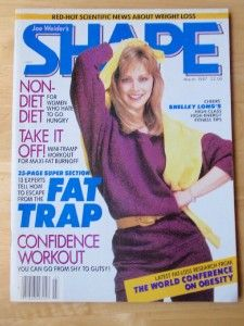 Shape Female Fitness Muscle Magazine Cheers Shelley Long 3 87