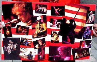Bruce Springsteen 1985 Born in The USA Tour Concert Program Unused
