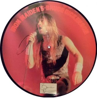 Iron Maidens Bruce Dickin Bruce Dickinson UK Picture Disc LP