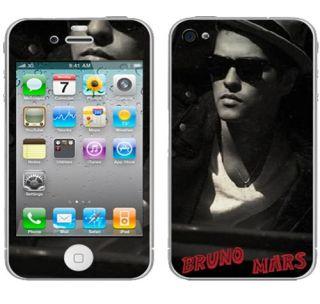 Hot Bruno Mars iPhone 3G 3GS 4 Decal Skin