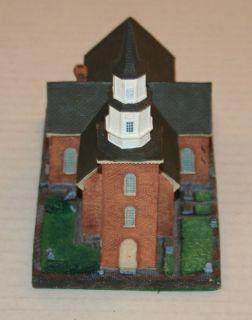 1993 Danbury Mint Bruton Parish Williamsburg VA Historic American