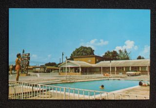 1970s Bryant Town Motel 1510 Cosby Road Old Cars Tractor Trailer