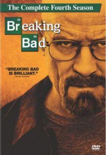 Breaking Bad The Complete Fourth Season DVD New Bryan Cranston
