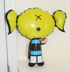 The Powerpuff Girls Bubbles Inflatable Doll Vintage
