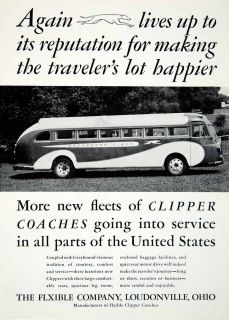 Loudonville Clipper Coaches Greyhound Bus Transportation Travel