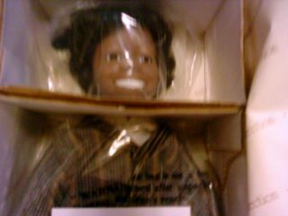 THE LITTLE RASCALS OUR GANG BUCKWHEAT PORCELAIN DOLL HAMILTON
