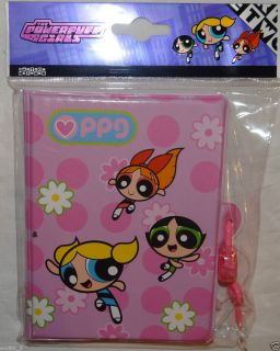 New Powerpuff Girls Diary Blossom Buttercup Bubbles Back to School