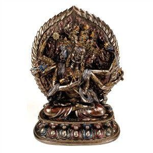 Tibetan Buddha Guhyasamaja Statue 11 New Tantric Buddhist Deity High