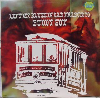 Buddy Guy Left My Blues in San Francisco LP Promo VG