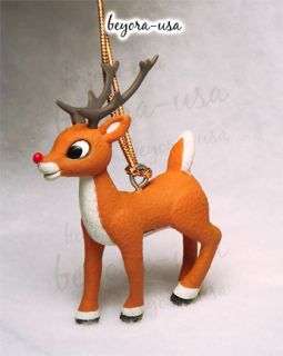 Young Buck Rudolph ornament from the Rankin/Bass movie Rudolph the
