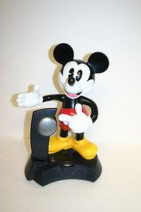 Disney Mickey Mouse Animated Talking Cordless Telephone Telemania