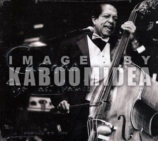 Cachao The Last Mambo La Leyenda En Vivo 2 CDs Descarga