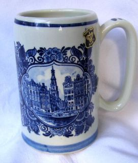 Buxtehude Germany Beer Stein Mug Made by Christian Kramer in Buxtehude
