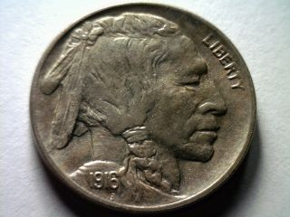 1916 Buffalo Nickel Nice Uncirculated Nice UNC Nice Original Coin Bobs